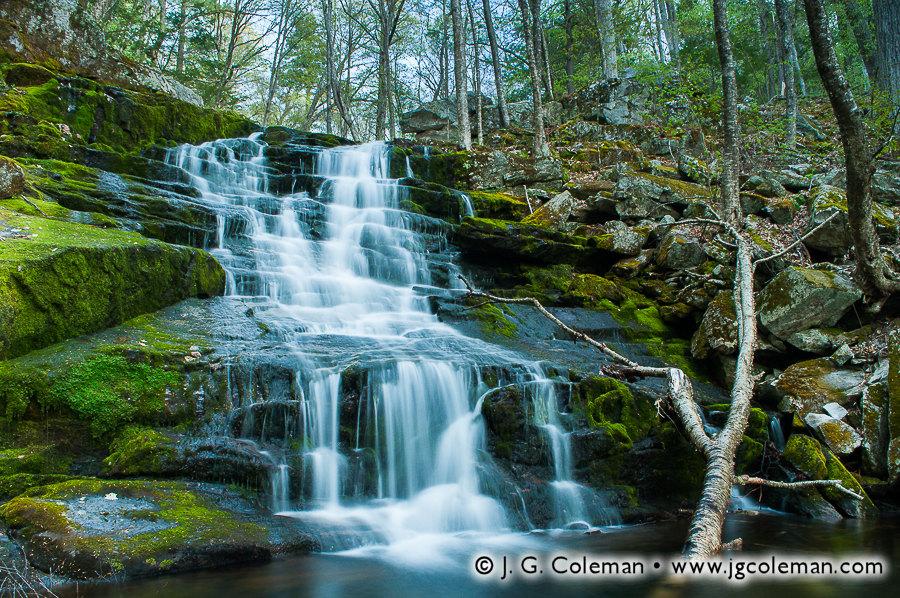 Falls Brook Falls • Hartland, CT