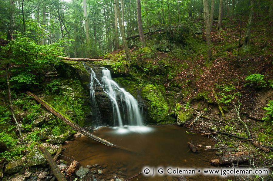 Nonnewaug Falls • Woodbury, CT