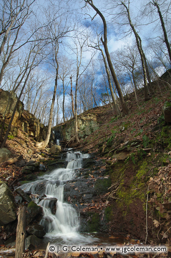 Stair Brook Falls • North Branford, CT